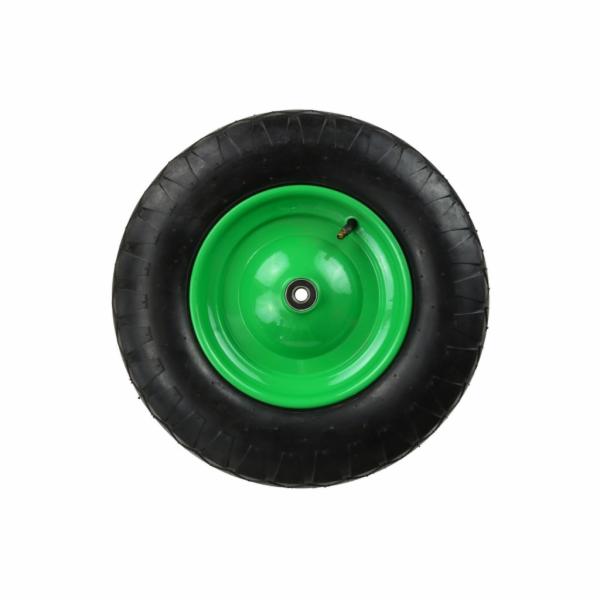 Gumové kolo do vozíku, 390x85mm, průměr středu 220mm, GEKO
