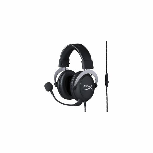 HyperX Cloud headset silver KINGSTON