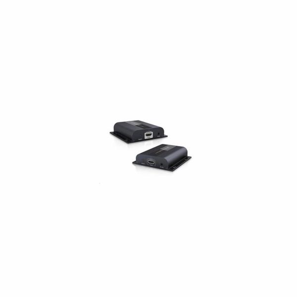 HDMI extender na 120m přes LAN, over IP, HDBitT