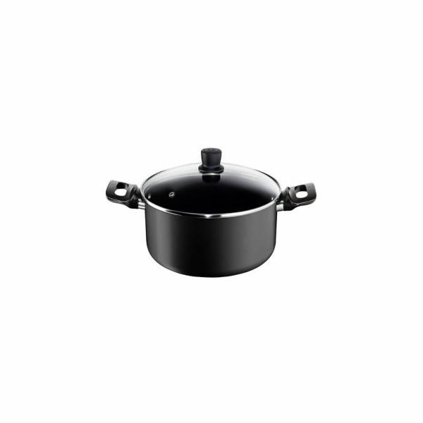 Tefal E42646 Pro Style indukční hrnec 5 litrů černý