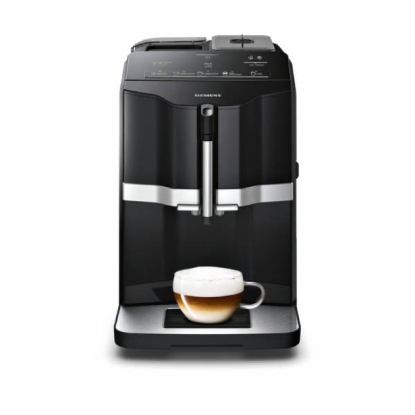 Siemens TI301509EN EQ.3 s100 15 bar plně automatický kávovar, jednodotykový, černý