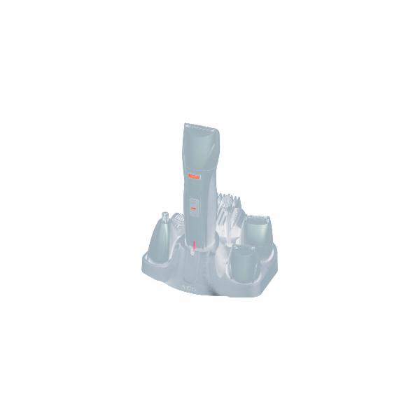 BHT 5640 Holicí strojek+zastřihávač 4v1