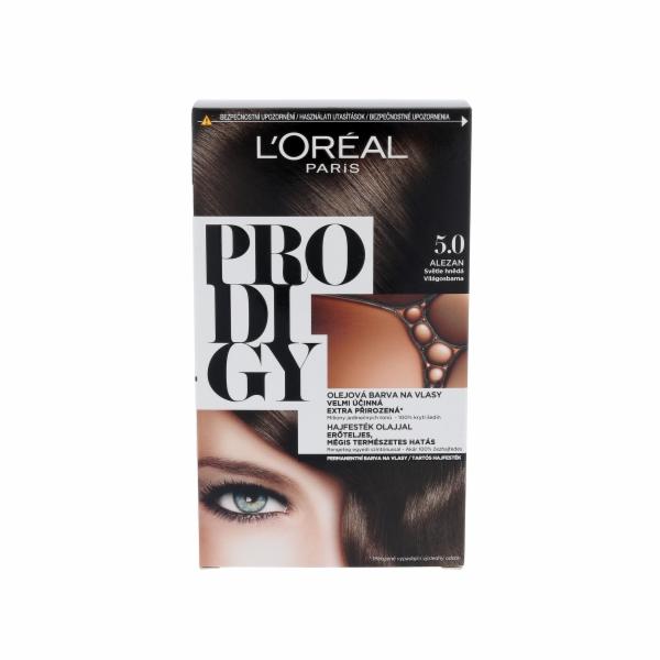 Barva na vlasy L´Oréal Paris Prodigy 5 1ks 5.0 Alezan