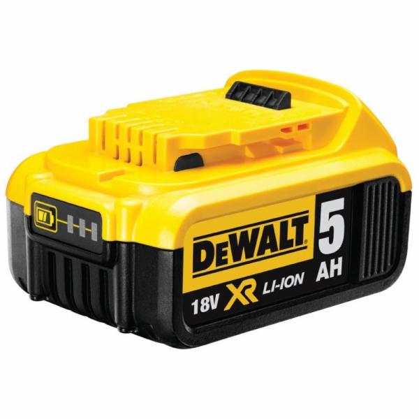 DEWALT DCB184 18V 5,0Ah Li-Ion Zásuvný akumulátor