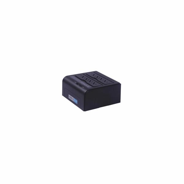 "PremiumCord USB3.0 HDD dokovací stanice pro dva 2.5""/3.5"" SATA HDD"
