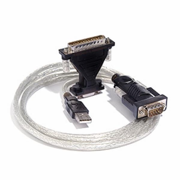 PREMIUMCORD Kabel adaptér USB - sériový port (COM, RS232, redukce)
