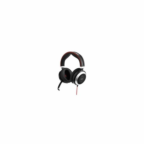 Jabra Evolve 80, Duo, USB/Jack, MS