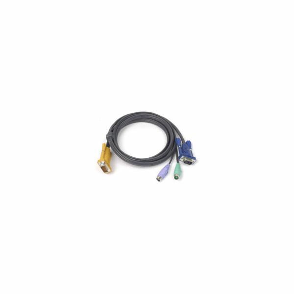 ATEN KVM Kabel (HD15-SVGA, PS/2, PS/2) - 6m