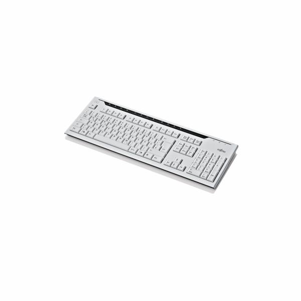 Fujitsu klávesnice KB521 USB CZ SK marble grey