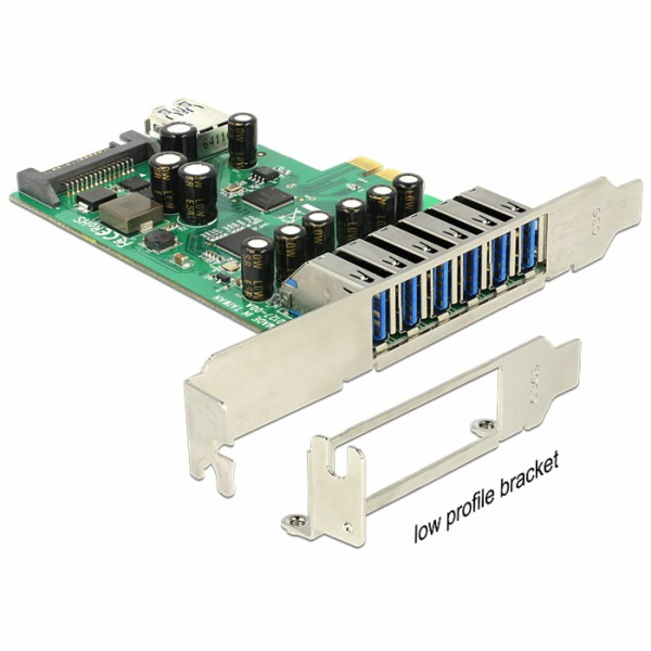 Delock PCI Express Card > 6 x external + 1 x internal USB 3.0