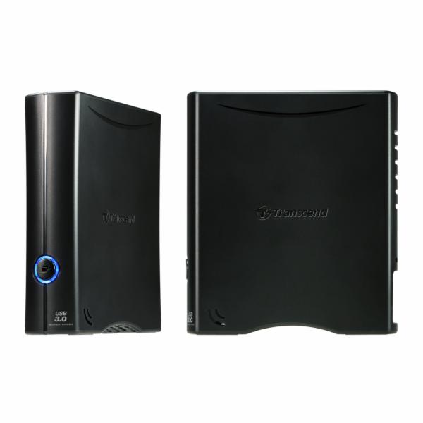 """TRANSCEND 4TB StoreJet 35T3, 3.5"""", USB 3.0, Externí hard disk, černý"""