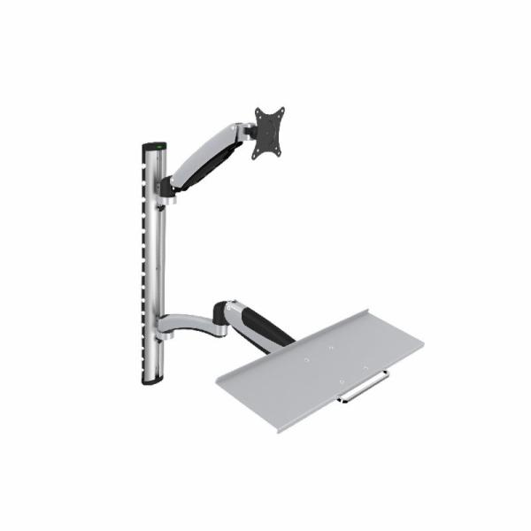 "Digitus držák na monitor a klávesnii do 69cm (27""), flexibilní, 8kg"