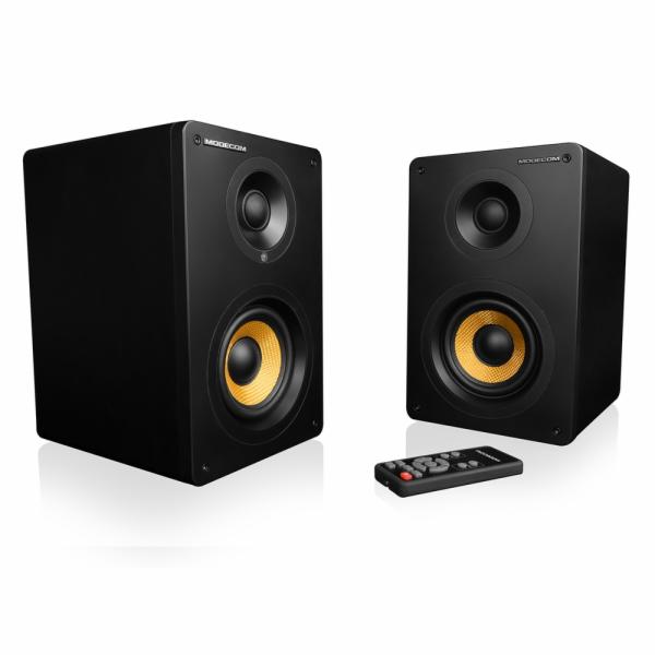 Modecom reproduktory ECLIPSE 60, 2.0, 2x30W RMS, Bluetooth 4.0, dálkové ovládání, černé
