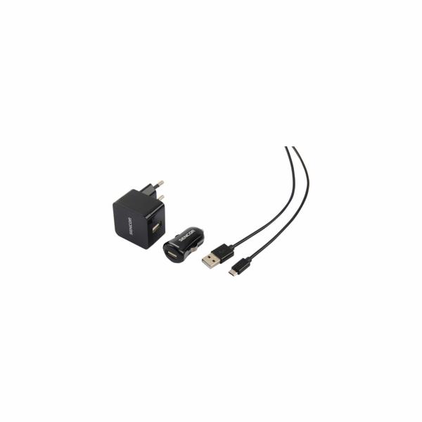 SCO 516-000BK USB KIT 1M/WALL/CAR SENCOR