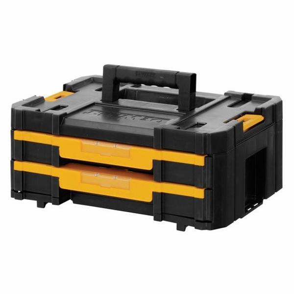 Tstak IV - box s dvěma zásuvkami DeWalt
