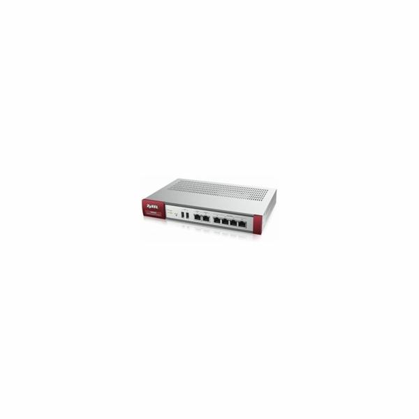 Zyxel ZyWALL USG60 UTM BUNDLE, Security UTM solution: Firewall, VPN: 20x IPSec/ 20x SSL (5 default), 6x 1Gbps (4x LAN/DM