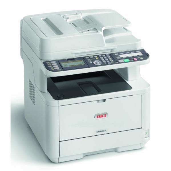 OKI MB472dnw A4, 33 ppm 1200x1200 dpi, RADF, PCL6, USB2.0, LAN, WI-FI (Print/Scan/Copy)