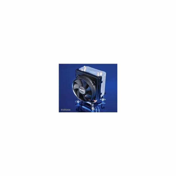 AKASA Chladič CPU AK-968 X4 pro patice LGA 775,115x, 1366, 2011, Socket AMx, FMx, měděné jádro, 92mm PWM ventilátor