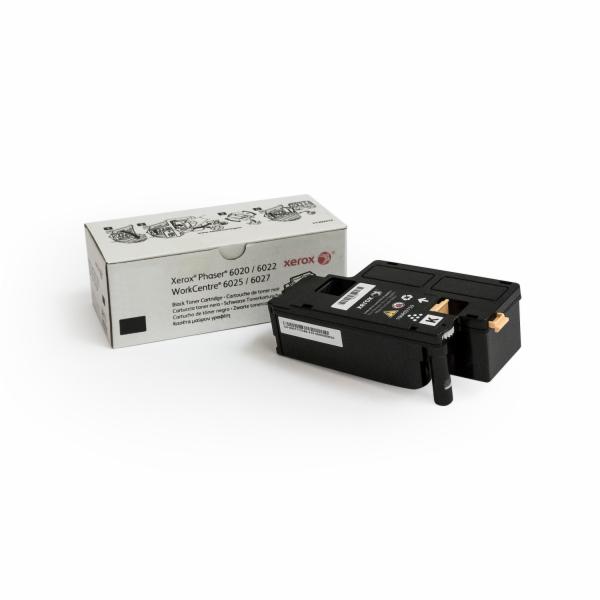 Xerox toner pro WC 6025/6027 a P 6020/6022, Black