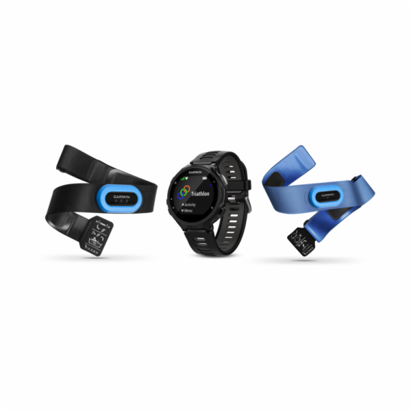 Garmin Forerunner 735XT Tri Bundle black/grey