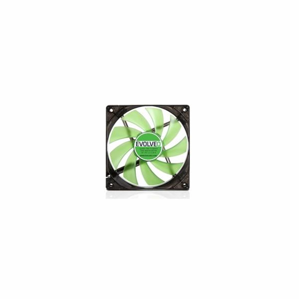 EVOLVEO ventilator 120mm, LED green