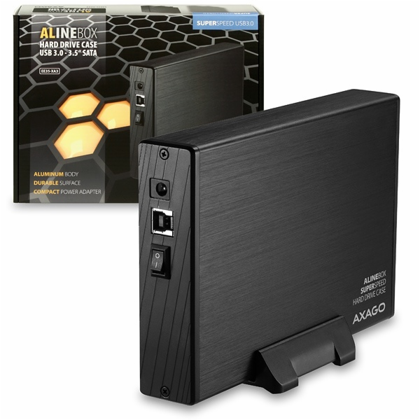 "AXAGO - EE35-XA3 USB3.0 - SATA 3.5"" externí ALINE box"