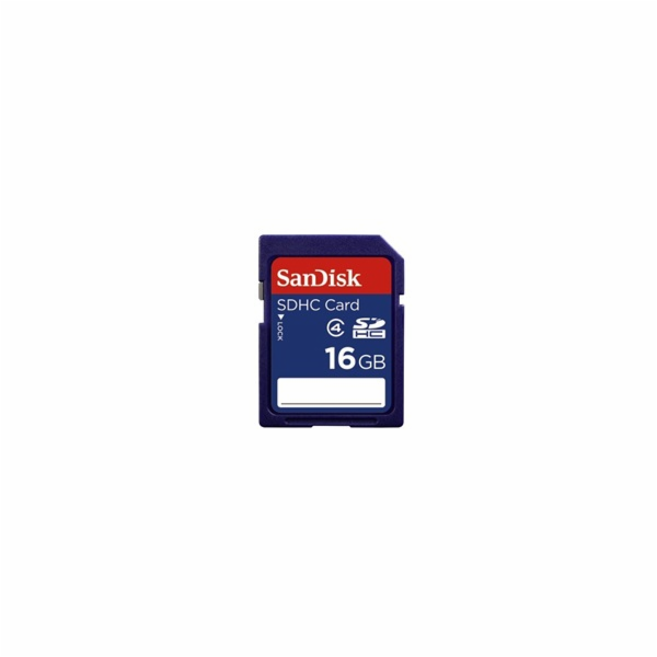 SanDisk SDHC 16 GB, class 4