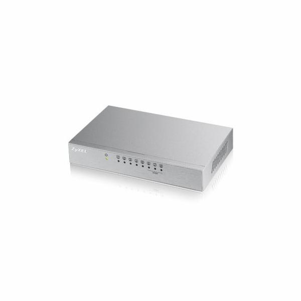 ZyXEL 8x10/100 QoS switch (metal housing)ES-108Av3
