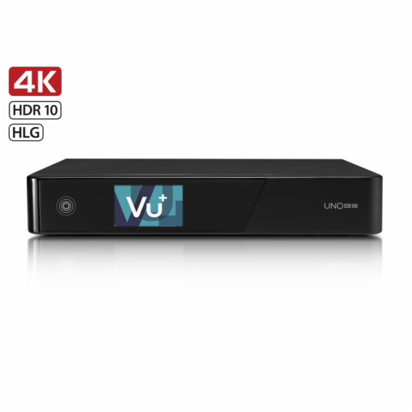 VU+ UNO 4K SE 1x Dual FBC-S/S2 tuner