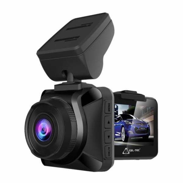 Palubní kamera do auta CEL-TEC E11, CZ menu