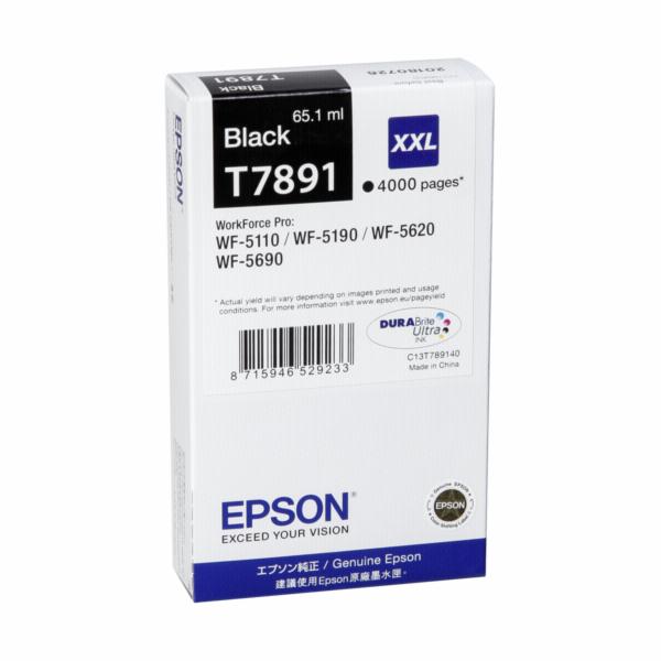 Epson DURABrite Ultra Ink XXL ink cartridge black T 7891