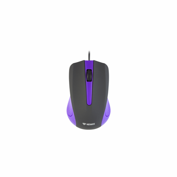 YMS 1015PE Myš USB Suva fialová YENKEE