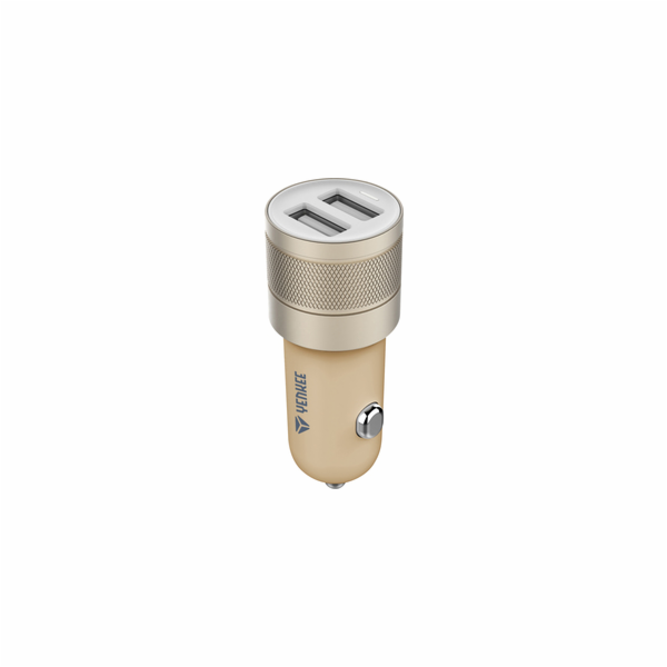 YAC 2048GD USB Autonabíječka 4.8A YENKEE