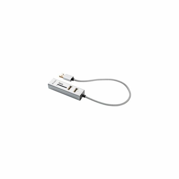 YHC 101SR USB COMBO HUB+čtečka YENKEE