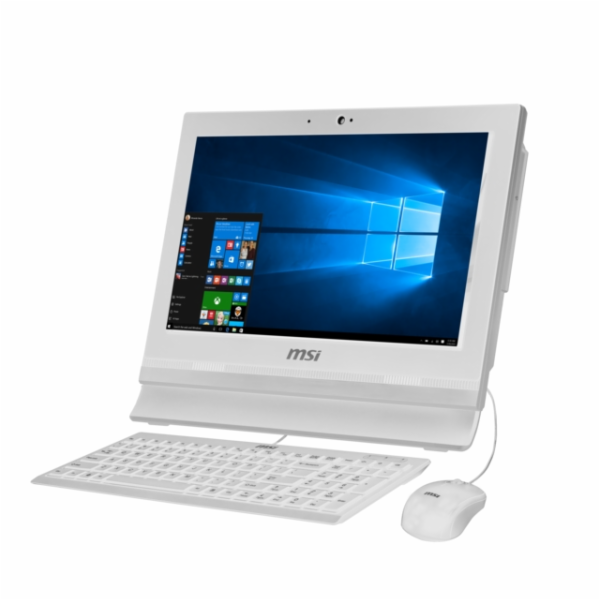 "MSI Pro 16T 7M-020XEU Celeron 3865U/4GB/White/15,6""HD ST/HD Graphics 610/500GB HDD/Hdd Caddy/GbLan/noOS"