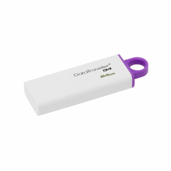 KINGSTON 64GB USB 3.0 DataTraveler I G4 fialový