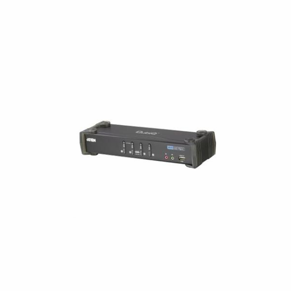 ATEN KVM switch CS-1764A DVI, 4PC, 2xUSB hub, Audio