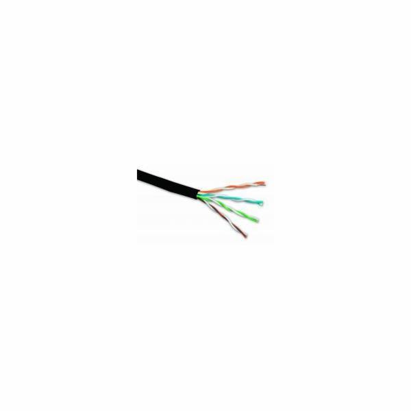 Venkovní inst. kabel Solarix CAT5e UTP PE 305m/box