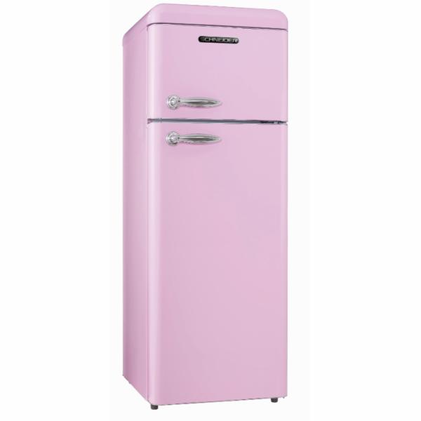 Chladnička Schneider SL 210 SP růžová