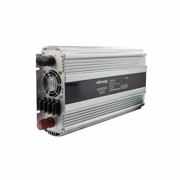 Whitenergy Napěťový měnič AC/DC z 24V na 230V 2000 W, 2 zásuvky