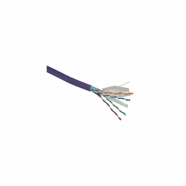 Instalační kab.Solarix CAT6 FTP 500m drát LSOH
