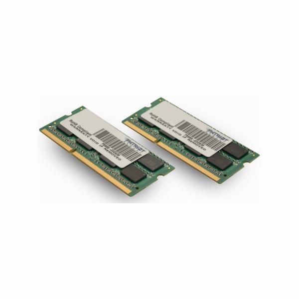 SO-DIMM 16GB DDR3-1333MHz PATRIOT, 2x8GB pro Apple