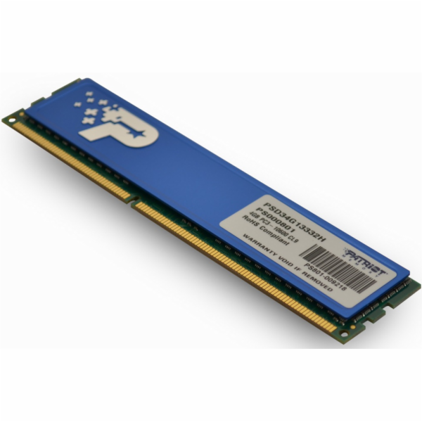 4GB DDR3 1333MHz Patriot CL9 DR s chladičem