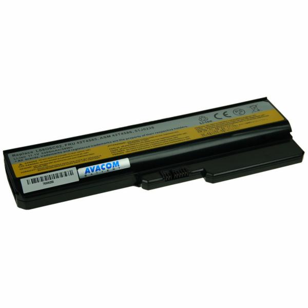 Baterie AVACOM NOLE-G550-806 pro Lenovo G550, IdeaPad V460 series Li-Ion 11,1V 5200mAh/58Wh