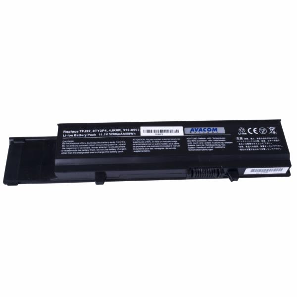 Náhradní baterie AVACOM Dell Vostro 3400/3500/3700 Li-ion 11,1V 5200mAh/58Wh