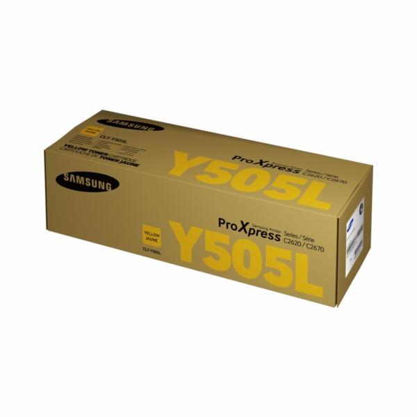 HP - Samsung toner CLT-Y505L/ELS pro SL-C2620DW, C2670FW žlutý 3500 stran