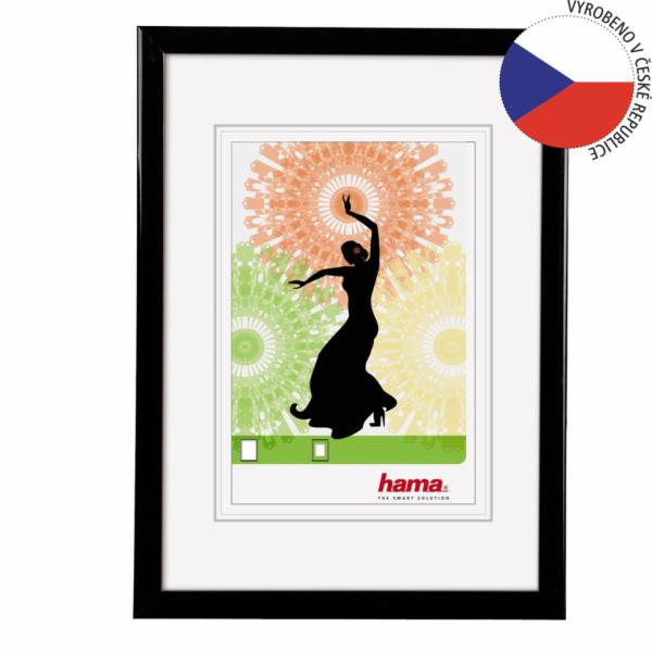 Hama Madrid black 30x45 Plastic Frame 66776
