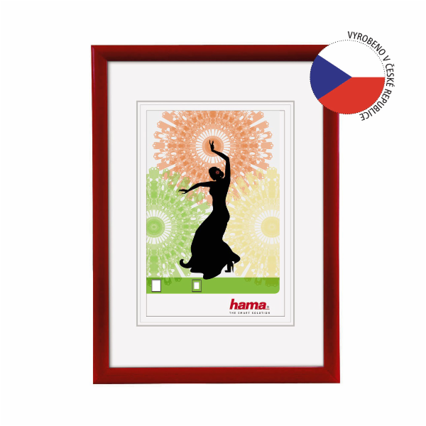 Hama Madrid red 30x45 Plastic Frame 66779
