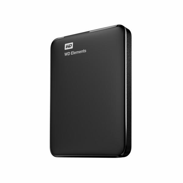 WD Elements Portable 750GB Black