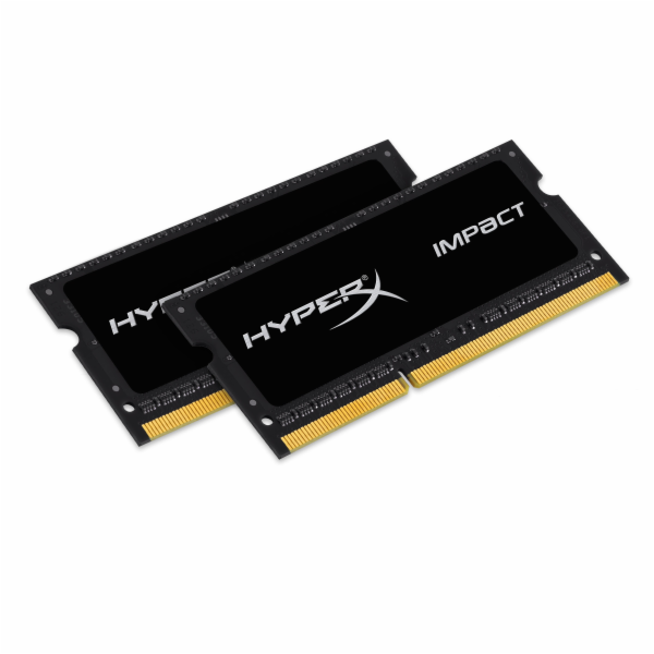 KINGSTON 16GB 1866MHz DDR3L CL11 SODIMM (Kit of 2) 1.35V HyperX Impact